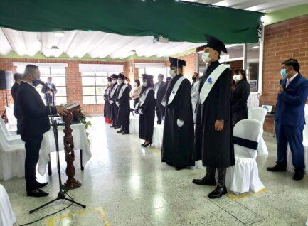 Graduación del I semestre del 2021